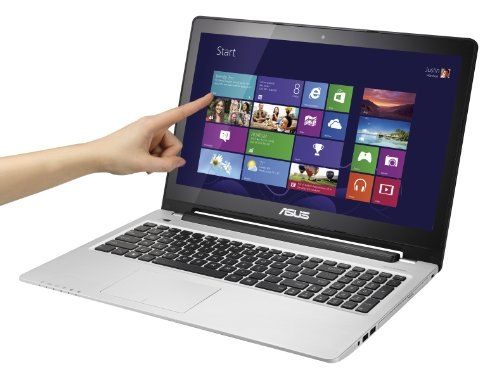 Asus S550CB-CJ020H VivoBook Portatile, Display 15.6 Pollici, Touchscreen LED, Processore Intel Core i7 2 Ghz, RAM 8 GB, HDD Hybrid 750 GB + 24 GB SSD, Windows 8, Grigio