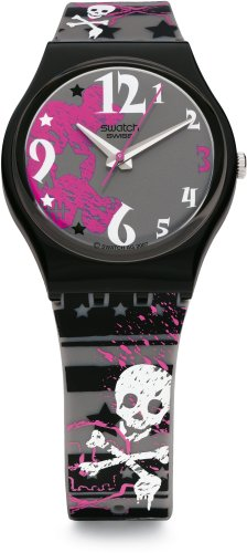 swatch (スウォッチ) 腕時計 REAL PUNK GB235 レディース [正規輸入品]