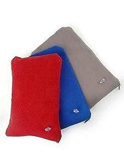 Inflatable Comfort Fleece Travel Pillow