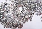 Strass clear transparent rond 1.5 mm...