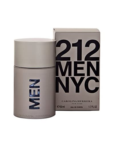 Carolina Herrera Eau De Toilette Uomo 212 50 ml