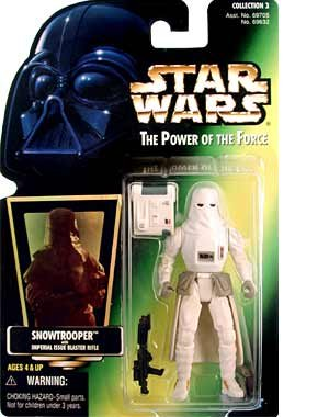 1 X Star Wars: Power of the Force Green Card > Snowtrooper Action Figure - 1