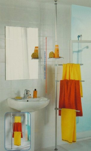 Handtuchhalter Ausverkauf Ruco Alu Teleskop Handtuchstange Handtuch