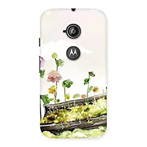 Special Fence Landscape Multicolor Back Case Cover for Moto E 2nd Gen