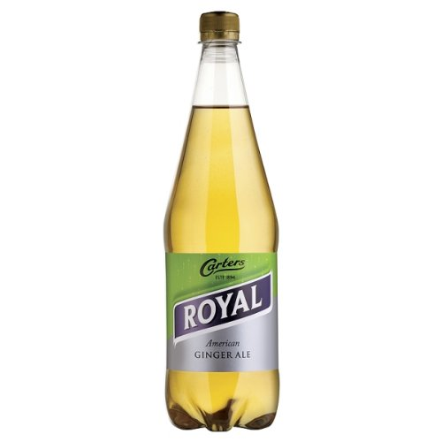 Carters Royal American Ginger Ale 6 x 1litre