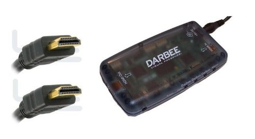 DarbeeVision Darblet – HDMI Video Processor From Darbee DVP 5000 – Includes a Free 6′ HDMI Cable