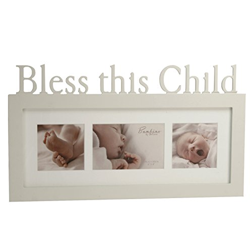 Bambino FW751BCH Photo Frame, Bless this Child - 1