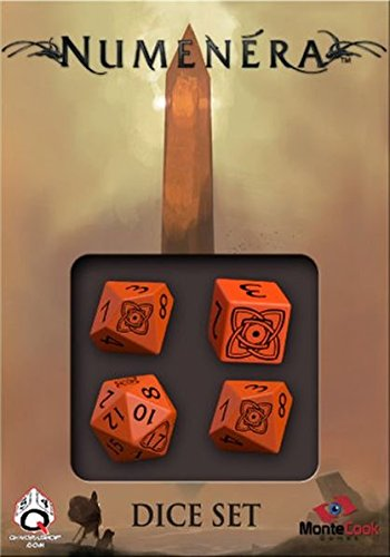 Numenera Dice Set (4) Board Game