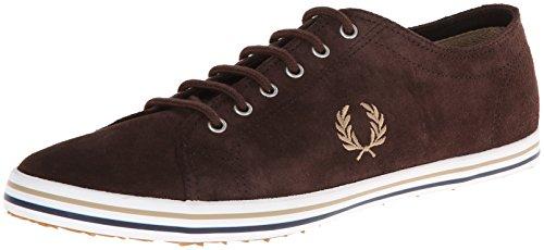Fred Perry Men's Kingston Suede Fashion Sneaker,Dark