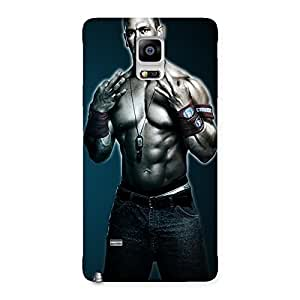 AJAYENTERPRISES best Fighter Back Case Cover for Galaxy Note 4