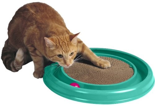 Bergan Turbo Scratcher Cat Toy, Colors May Vary.