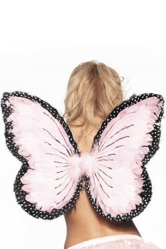 Feather Butterfly Wings Costume Accessory