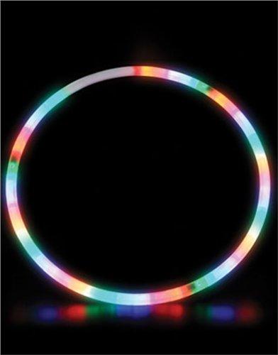 28 Inch Led Lighted Twist Hula Cosmic Glow Hoola Hoop front-1012775