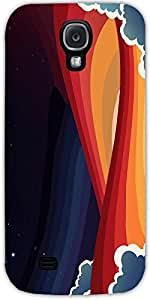 Snoogg Universal Paradigm 2465 Case Cover For Samsung Galaxy S4
