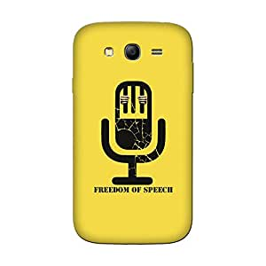 Abhivyakti Qoutes&words Freedom Of Speech Hard Back Case Cover For Galaxy Grand 3