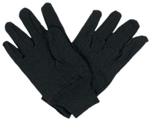 8 Oz Brown Jersey Gloves For Gardening And Househould Tasks, With Comfort-Fit Wrist front-544394