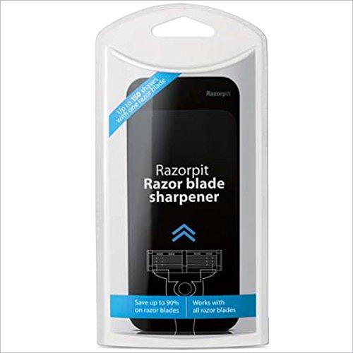 カミソリ刃の切れ味を2~3倍長持ちさせる。レザーブレードシャープナー WRー3000