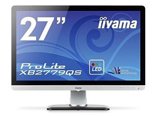 iiyama WQHD(2560x1440)モード対応 AH-IPSパネル搭載 WLEDバックライト27型ワイド液晶ディスプレイ XB2779QS-S1
