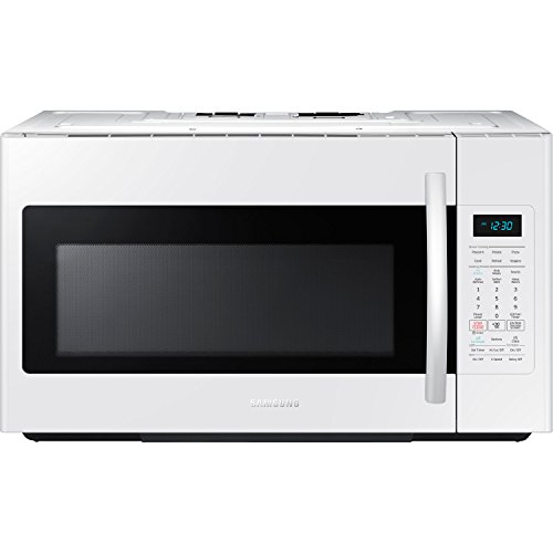 Lowest Prices! Samsung ME18H704SFW 1.8 Cu. Ft. 1000W Over-the-Range Microwave, White