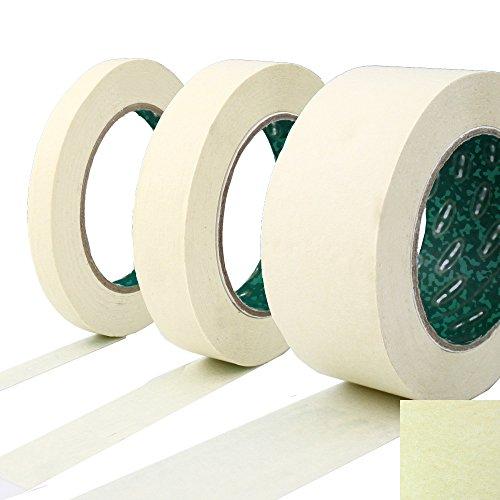 kreppband malerkrepp abklebeband wei 75mm x 50m zum perfekten lackieren saubere. Black Bedroom Furniture Sets. Home Design Ideas