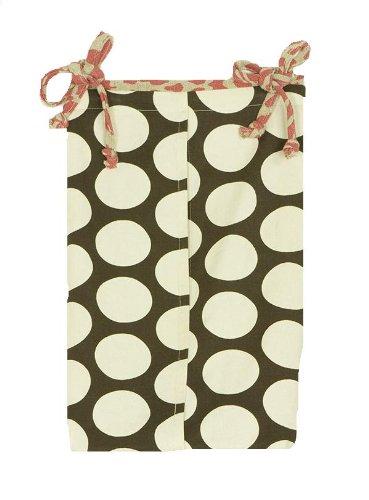 Cotton Tale Designs Raspberry Dot Diaper Stacker