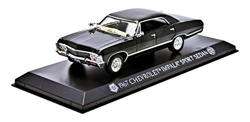 greenlight-collectibles-86441-chevrolet-impala-sport-sedan-saacrie-super-natural-1967-echelle-1-43-n