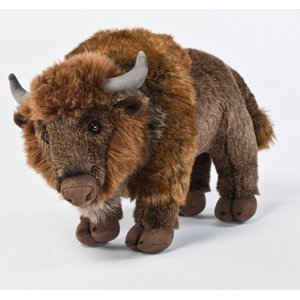 "Signature by Aurora 14"" (36cm) Standing Bison (Buffalo) Plush Toy"