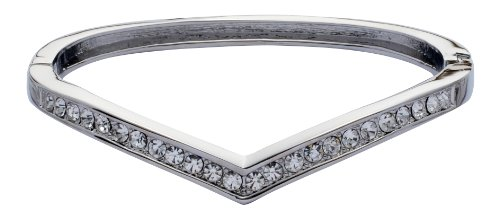 Jodie Rose Crystal Hinged Bangle