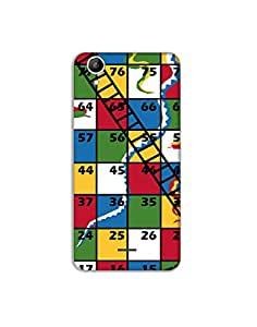 Canvas Selfie 3 (Q345) nkt01 (78) Mobile Case from Mott2 - Snakes and Ladders (Limited Time Offers,Please Check the Details Below)