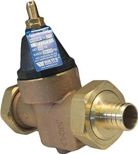 watts n45bdu ez m1 3 4 water pressure reducing valve pex connection. Black Bedroom Furniture Sets. Home Design Ideas