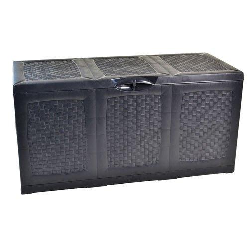 Auflagenbox 380L Kissenbox Gartenkissen Box Gartenbox Kissentruhe Neu