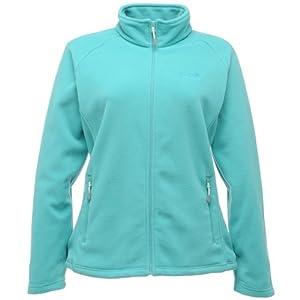 Regatta Ladies Midweight Cathie Fleece Full Zip Jacket - Ceramic Aqua UK 10