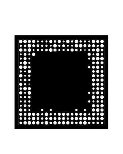 Dot Matrix Framed Chalkboard