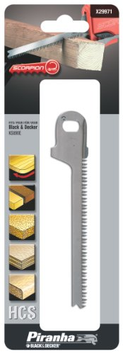 Black & Decker X29971 Scorpion Saw Blade - Curve Cut (Black And Decker Scorpion Saw compare prices)