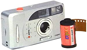 Lupus AGFAFF204 Compact Set FF appareil photo argentique avec 6 pellicules pour 204 photos