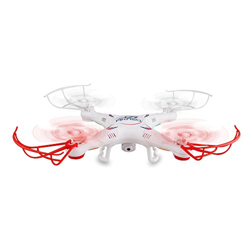 Akaso-X5C-4CH-24GHz-6-Axis-Gyro-Headless-RC-Quadcopter-with-HD-Camera-360-degree-3D-Rolling-Mode-RC-Drone-Bonus-MicroSD-card-Blades-Propellers-included