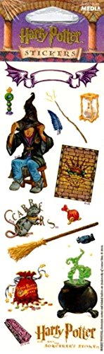 Harry Potter Stickers Sorting Hat Potions Class Scabbers Etc
