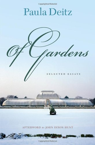Of Gardens: Selected Essays (Penn Studies In Landscape Architecture) front-574573
