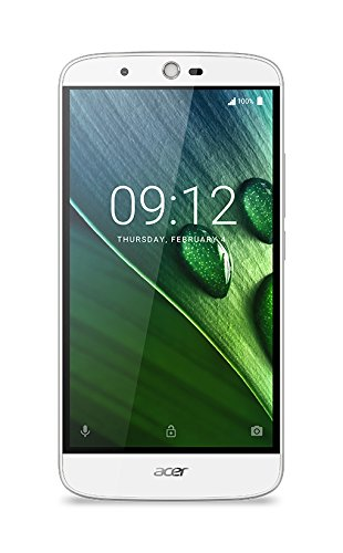 Acer Liquid Zest Plus LTE Dual Micro-SIM Smartphone (14 cm (5,5 Zoll) Display, 16GB Speicher, Android 6.0) weiß