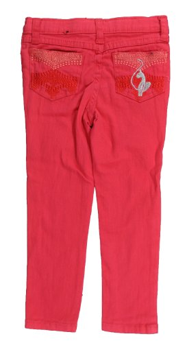 Baby Phat Girls Denim Honey Suckle Stretch Pant (5) (Baby Phat Pants compare prices)