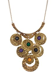Amaira Jewels Gold Plated Strand Necklace For Women
