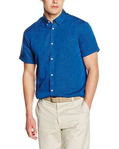 SELECTED HOMME Camisa Hombre Azul