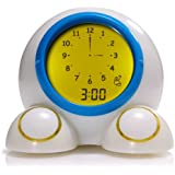 Patch Products LLC Teach Me Time! Talking Alarm Clock and Nightlight