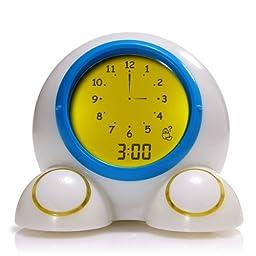 Teach Me Time! Talking Alarm Clock & Night-Light