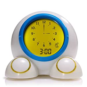 Patch Products LLC Teach Me Time Talking Alarm Clock and Nightlight