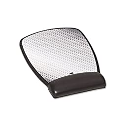 MMMMW309LE - 3m Precise Leatherette Mouse Pad w/Standard Wrist Rest