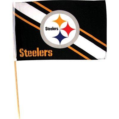"Stick Flag Steelers 12' X 18"""