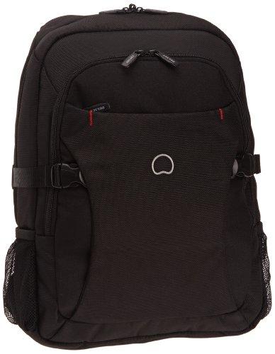 Delsey Crosstrip 2 - Zaino protezione PC, misura M, colore nero