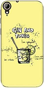 The Racoon Lean Lemon Gin and Tonic hard plastic printed back case/cover for Htc Desire 830