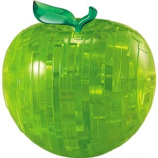 Cheap Fundex Fundex Games Green Apple – 3D Jigsaw Puzzle – Clearly Puzzled (difficulty 7 of 10) (B00415JSAS)